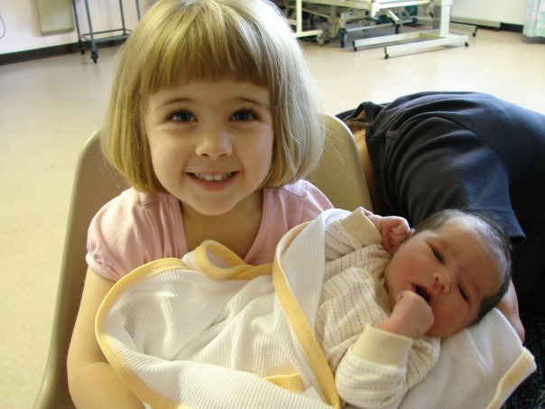 Big sister and baby Tessa - Lorna's two very different Birth Stories! http://www.mumsdays.com/two-very-different-birth-stories