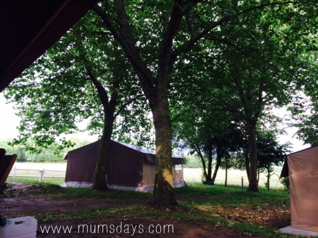 Eurocamp - baby's first camping trip! Lucy's experience and lessons learnt from camping with a toddler and a baby http://mumsdays.com/eurocamp/