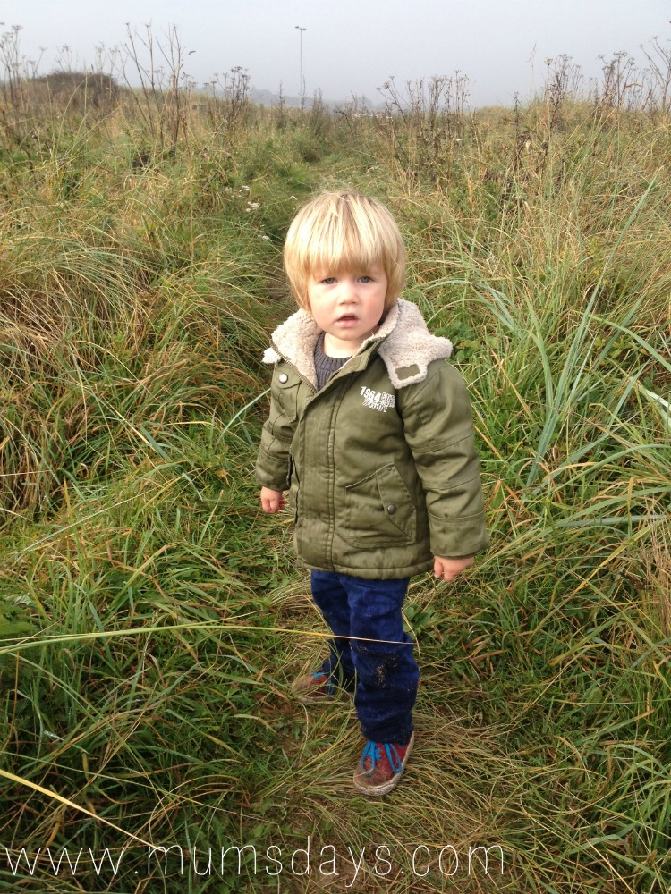 ...in the Dunes - Tips for walking with toddlers