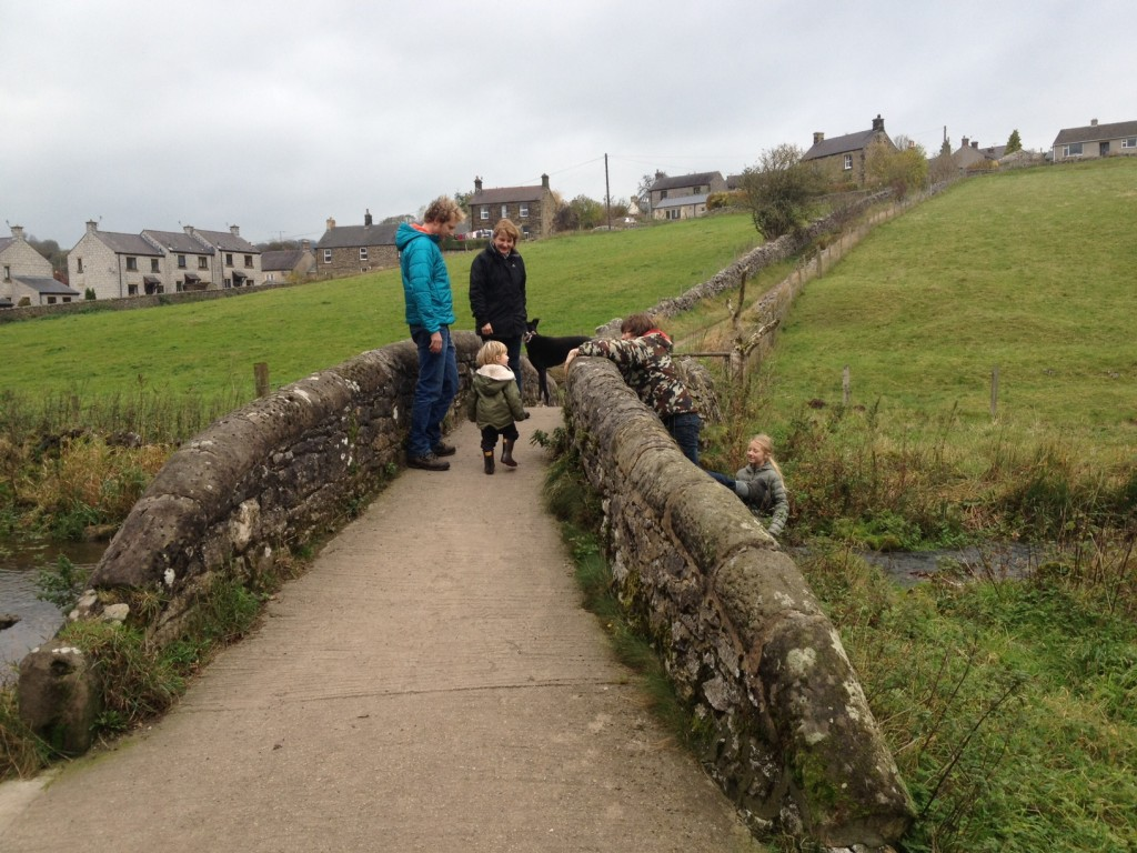 In the peak district - family holiday and walking with a toddler in Youlgreave